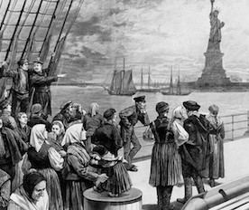 Immigrants-Statue of Liberty